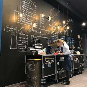 New Espressomobil PopUp Store ❤️☕️❤️Praterstrasse 1 Vienna #espressomobil #bestplace #bestcoffee ##vienna🇦🇹 #coffee weXelerate