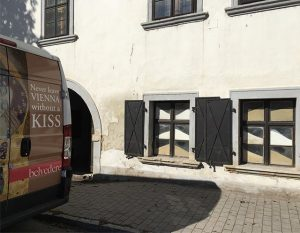 Heute Übernahme des Archiv Werkstatt Breitenbrunn von Fria Elfen. #wbb #archive #museum #breitenbrunn #friaelfen #belvederemuseum