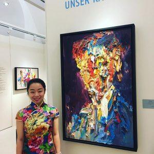 Die tollen #bilder der chinesischen #Künstlerin #lihua ausgezeichnet, mit den Louis Vuitton Kunstpreis, gibt es bei uns...
