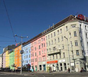 Colorful Vienna Erste Campus Wien
