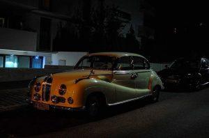 A 1950ies #BMW 502 Gangsta Linosine Argentinier Strasse