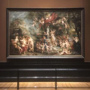 "The great Flemish master Rubens opened tonight at Kunsthistorisches Museum, here ""The Feast of Venus"" (1636/37) #vienna..."