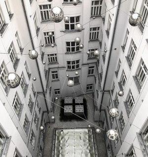 planetary inner court. Vienna, Austria