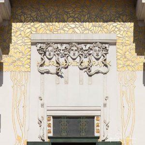 Die Wiener Sezession wurde 1897 von Joseph Maria Olbrich als Ausstellungsgebäude für zeitgenössische Kunst errichtet #architecture #jugendstil...
