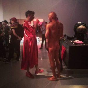 24.10.2017 #oh...? Ja! #jakoblenaknebl #mumokwien #party #wagashishisvienna #mumok #vienna Mumok, Museum of Modern Art, in Vienna.