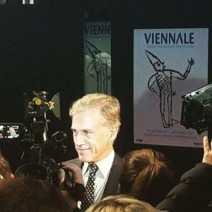Viennale 2017 Stargast Christoph Waltz! Hautnah und doch so fern :-P #Vienna #viennale2017 #christophwaltz #starstruck #hanslanda #carnage...