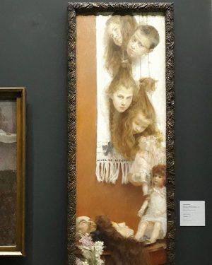 HAPPY HALLOWEEN! 👻🦇🕸 Vlaho Bukovac: Phantasy, 1906. © Museums and Galleries of Konavie, Bukovac House, Cavta This...