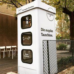 Habt ihr gewusst, dass die alte Telefonzelle auf unserem Grundstück als #offenerbücherschrank bzw. ...