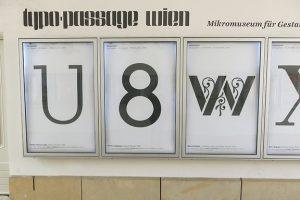 Neue Typo braucht die Wand @Q21_vienna -