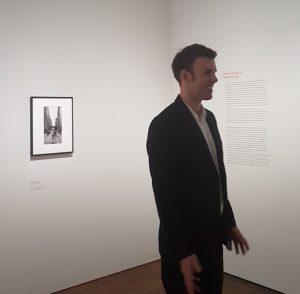 #WalterMoser:Seine Fotografien sind spontan und oft-naja sagen wir-aus der Hüfte geschossen. #AlbertinaFrank…