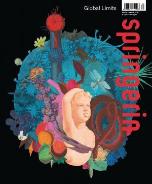 In der neuen Ausgabe der #springerin: Wie nimmt Kunst auf die drohende Rohstoffverknappung ...