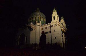 Steinhof #kircheamsteinhof #steinhof #vienna #wien #darkness #ottowagner #geister #autumn #herbst
