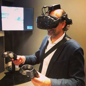 #virtualreality #futureofwork #futurelab #gamification #innovation #palfinger weXelerate