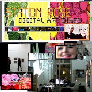 STR on TV tomorrow 9am CET @orfdrei #stationrose #digitalart #electronica #digitalartdiary #glitchart #TV #orf #orf3 orf3.at #vienna #contemporaryart #viennaartweek2017 #viennaartweek