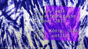 [NEW VID ONLINE| Gallery walk Schleifmühlgasse Oct/Nov 2017 #art #Vienna