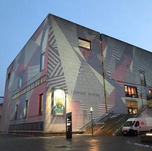 Super fabulous art spot! Leopold Museum