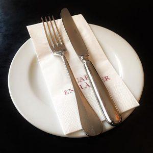 heute Menü 2 ohne #iphone6splus #restaurant #besteck #cafe #hungry Café Engländer