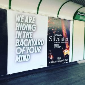 BRUT POSTERS ON TOUR