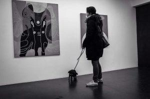 Mondanbetung auf Leinwand 140x120 cm #anouklammanouk #galeriesteinek Galerie Steinek