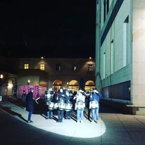 Little drummer boys 💕 @mdwwien #musicisintheair #drums #classicalmusic #vienna #MQwinter #placetobe MQ – MuseumsQuartier Wien