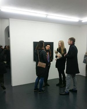 Opening I MISS THE PLACE WHERE I AM FROM #anouklammanouk @galeriesteinek w/ @silviasteinek ...