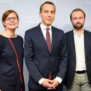 Ich freue mich, mit euch beiden die SPÖ zur modernsten sozialdemokratischen Partei Europas umzubauen 💪🏻 Auf gute...