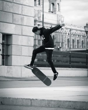One of the hottest spots in Vienna for skating is at the Hofburg. The people there killed...