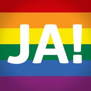 Der Verfassungsgerichtshof öffnet endlich die Ehe für alle! 🍾👩❤️💋👩👨❤️💋👨👩❤️💋👨🥂 #Ehefüralle