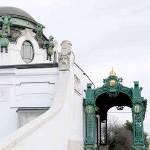 #Dekadentismus -true, but so beautiful #ottowagner #hofpavillon Wien Museum Otto Wagner Hofpavillon Hietzing