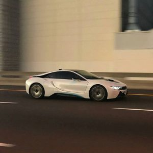 For accelerating moments. The #BMWi8 can go from 0-100 km/h in 4.4 seconds. #BMW #BMWrepost @arashaessner @BMWi...