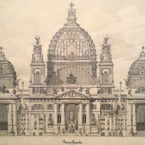 Entwurf für die Hauptfassade des Berliner Doms, Otto Wagner / Albertina Museum Wien オットー・ワーグナーによるベルリン大聖堂のデザイン案。 アルベルティーナに久しぶりに行きました。モネやピカソ、ココシュカの作品があるのはもちろん良かったけど、オットー・ワーグナーのデザイン案がいくつかあり、その緻密さに大興奮でした……。 Albertina Museum