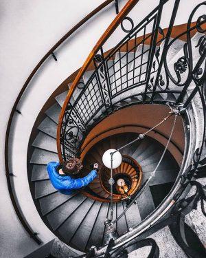 spiraling Vienna, Austria