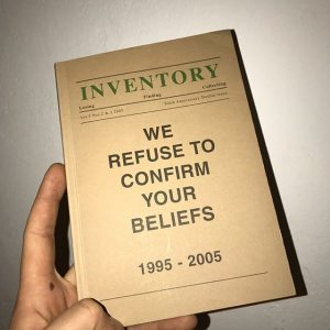 #inventoryjournal 'Publishing as an Artistic Toolbox: 1989-2017' #kunsthallevienna #kunsthallewien #adamscrivener #damianabbott #paulclaydon #artbooks #vienna #wien #bookstagram #anniversaryissue