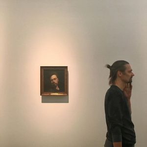 Artist: Ferdinand Hodler #art #ferdinandhodler #hodlerselfie Leopold Museum