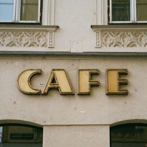 The great coffee, it's just one of the things I like about Vienna, but there is so...