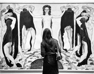 🤔 #art #artwork #artist #instaart #painting #suisse #painter #ferdinandhodler #vienna #wien #leopold #museum #leopoldmuseum #artnouveau #jugendstil #admiration...