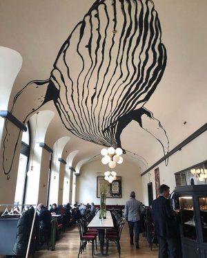 This ceiling! 🐋 // regram @jaimehayon / @rien_wien rien