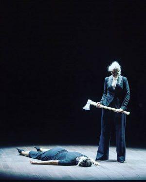 Heute Abend wird #mariastuarda #marlispetersen zum letzten Mal zum Schafott geführt ☠ #alexandradeshorties #elisabetta Foto (c) Monika...