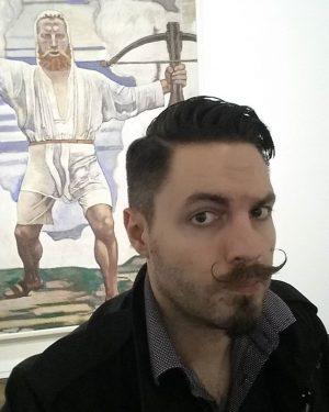 Wilhelm Tell von Ferdinand Hodler #leopoldmuseum #hodler #ferdinandhodler #art #kunst #beards #beardlife #beard #museum #selfie Leopold Museum