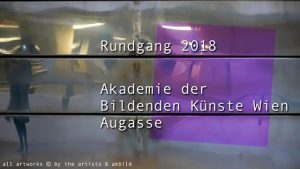[NEW VID ONLINE] Rundgang (tour) 2018 at the Academy of Fine Arts, #Vienna #art