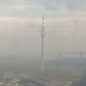 Foggy Vienna today 😞 Vienna, Austria