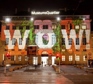 #mq #leopoldmuseum #heidihortencollection #largescaleprojection #wow MQ – MuseumsQuartier Wien