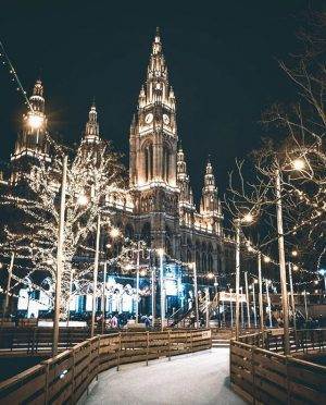 Winding through the romantically illuminated City Hall Park is a magical ice rink that thrills beginners and...