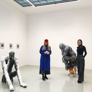 Thank you Lindsay Lawson for this fantastic show ❤️ . . @its_spooky @galerie.kandlhofer #lindsaylawson Galerie Lisa Kandlhofer
