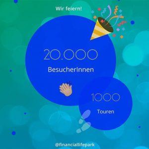 Grund zur Freude! 🤗 Seit unserer Eröffnung fanden bereits 1000 Touren mit insgesamt über 20000 BesucherInnen statt....