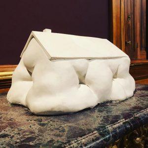 The Fat House by Erwin Wurm @erwinwurm • Belvedere 21 & Oberes Belvedere • Vienna . ....