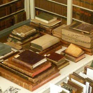 Die Josephinische #bibliothek mit Sammlungen der @meduniwien und Dauerleihgaben vom @billrothhaus. Allen Interessierten sei die Veranstaltungsreihe