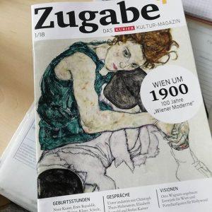 Heute liegt dem @kurierat ein Magazin bei, das unser Team produziert hat - mit Features und Interviews...