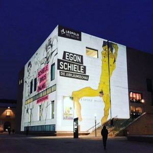 Tonight we celebrate Egon Schiele 😍 #theschieleshow #leopoldmuseum #loveleopold Leopold Museum