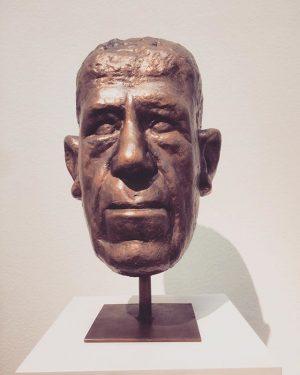 K o k o s c h k a 👤 #kokoschka #oskarkokoschka #portrait #sculpture #sculpture #wienum1900 #exhibition...